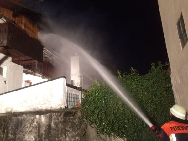 Brandeinsatz vom 08.12.2016  |  (C) Feuerwehr Bad Reichenhall (2016)