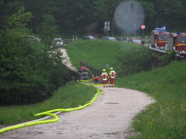 Brandeinsatz vom 23.05.2015  |  (C) Feuerwehr Bad Reichenhall (2015)