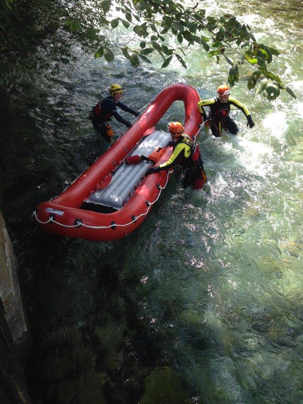 Wasserrettung vom 08.09.2015  |  (C) Feuerwehr Bad Reichenhall (2015)