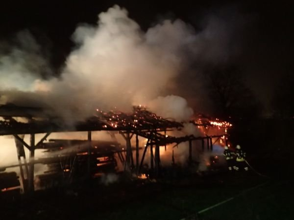 Brandeinsatz vom 18.01.2018  |  (C) Feuerwehr Bad Reichenhall (2018)