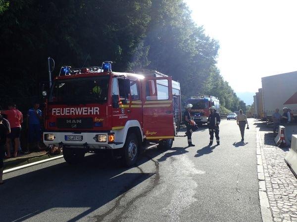 Brandeinsatz vom 04.06.2015  |  (C) Feuerwehr Bad Reichenhall (2015)