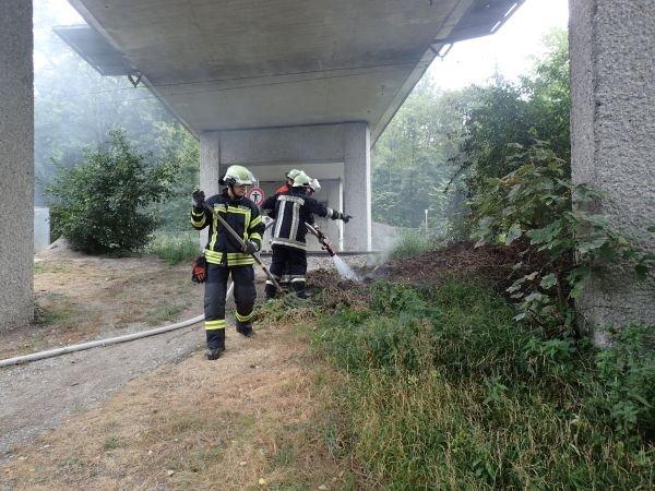 Brandeinsatz vom 25.09.2015  |  (C) Feuerwehr Bad Reichenhall (2015)