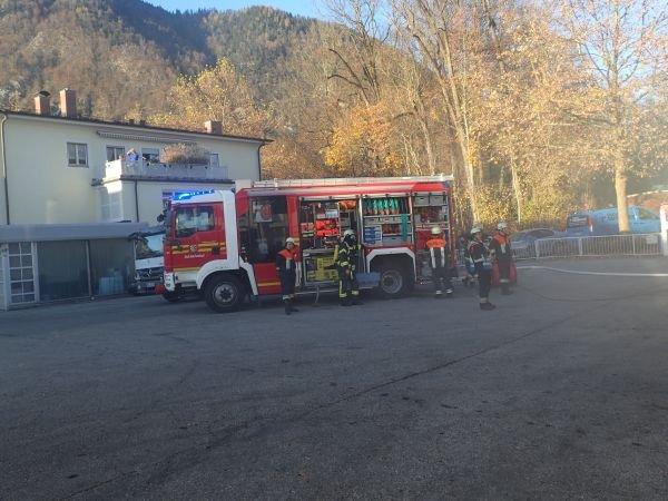Brandeinsatz vom 10.11.2015  |  (C) Feuerwehr Bad Reichenhall (2015)