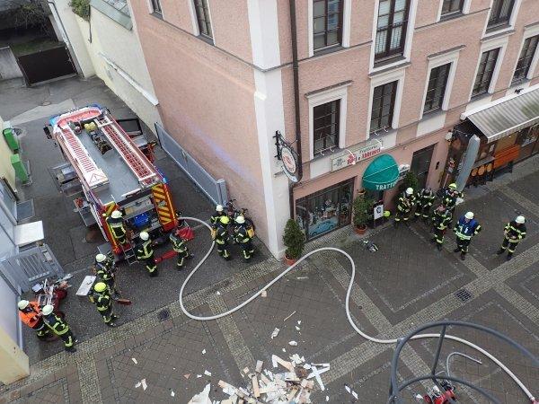 Brandeinsatz vom 27.01.2020     (C) Feuerwehr Bad Reichenhall (2020)